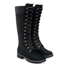 Timberland 14 Inch Tall Womens Ladies Hi Waterproof High Black Boots Size 4-8