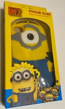 iPhone 4/4S Despicable Me Minions Bumper Phone Case Yellow Blue Soft Silicone