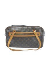 Louis Vuitton M51181 Cite GM Brown Monogram Coated Canvas Shoulder Bag