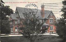 B67/ Wauwatosa Wisconsin Wi Postcard c1910 West House Milwaukee Sanitarium