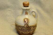 Vintage BRONTE Yorkshire Liqueur Shot Glass and Mini Bottle Jug (EMPTY)