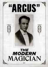 Argus A4 Photo Print Magic Magician Vintage