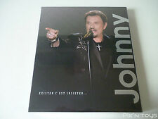 "Livre Johnny Hallyday ""Exister c'est insister"" / Edt Limited Access [Neuf]"
