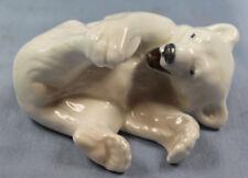 Eisbär polar bear porzellan  porzellanfigur figur royal copenhagen