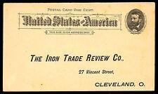1891 UX10 .01c MINT PREPAID POSTAL CARD -  VF - CV $7.50 (ESP#3457)