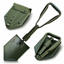 Triple Klappspaten Carbon steel with case 2 Ground sheets BW Spade Shovel