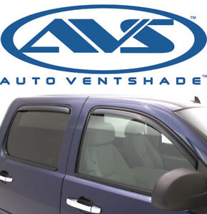AVS 194858 In-Channel Window Deflector Ventvisor 4-Pc for 2004-2015 Nissan Titan