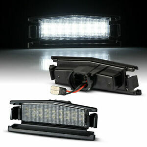 LED License Plate Light for Mazda MX-5 Miata Type ND Year From 2015>
