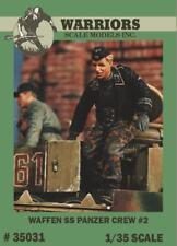 Warriors 1:35 Waffen SS Panzer Crew No.2 - 2 Resin Figures Kit #35031