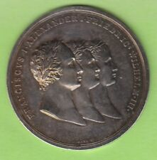 Russland Medaille 1813 Bündnis mit Preußen und Österreich toll selten nswleipzig