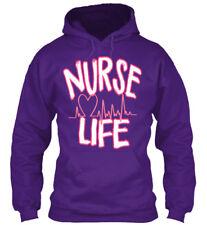 Quality Nurse Life - Gildan Hoodie Sweatshirt Gildan Hoodie Sweatshirt
