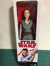 Star Wars Disney Hasbro The Last Jedi Rey Jedi Training 30cm Figure ver foto