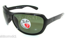 Authentic RAY-BAN Polarized Black Sunglasses RB 4189 - 601/9A *NEW*