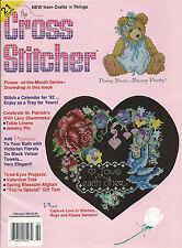 The Cross Stitcher Patterns 1992 Counted Cross Stitch Afghan Bib St Patrick's