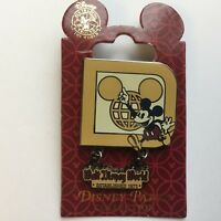 Walt Disney World ® Resort Retro Mickey Mouse Logo Disney Pin 77144