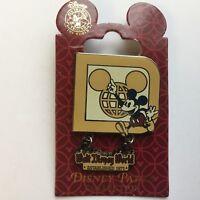 Walt Disney World ® Resort Retro Mickey Mouse Logo Disney Pin 77144