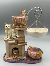 Yankee Candle Hanging Wax Tart Burner Cat Warmer Retired Cat Tree