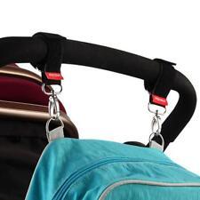Pram Hook Baby Stroller Shopping Bag Clip Carrier Carabiner Nylon Hangers HS3