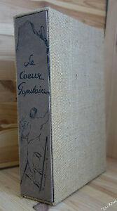 RICTUS Le coeur populaire gravures de Léla PASCALI suite sur JAPON 1950 NUM 1/50