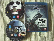 BLU RAY PELICULA BATMAN THE DARK KNIGHT BATMAN  EL CABALLERO OSCURO PAL NL USADA