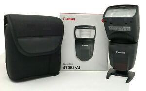 Canon Speedlite 470EX-AI Flash - 2 year warranty - NEXT DAY DELIVERY