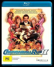 Cannonball Run II (Blu-ray) Bert Reynolds [All Regions] NEW/SEALED