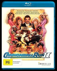 Cannonball Run II (Blu-Ray) Burt Reynolds [All Regions]  NEW/SEALED