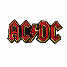 AC/DC LOGO PATCH - Official Embroidered Sew Iron on NEW