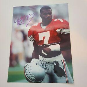 Joey Galloway Ohio State Buckeyes Autographed 8x10 Photo