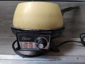 Vintage Oster Fondue Set - Harvest Gold
