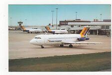 Birmingham International Airport Aviation Postcard, B006
