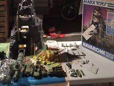 Vintage Marx Toy Navarone Playset Lot!!