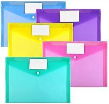 New listing 10 Pack Plastic Envelopes Poly Envelopes, For Home Work Office Organization