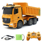 Remote Control Truck 2.4G RC Dump Truck Construction Vehicle With Light,Sound