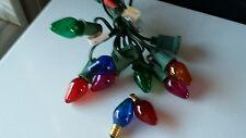 1970s Vintage Christmas Lights C-7 Sz Random TWINKLE Lights