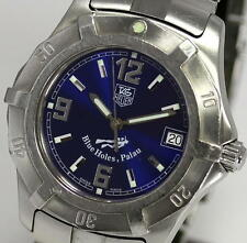 TAG HEUER Blue Holes,Palau Limited Edition Men's DIVING WATCH 200m WN1116_299617