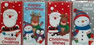 Christmas Money Wallets Cute Design Pack Of 4