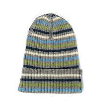 Gestreifte Baby-Hüte & -Mützen für Jungen aus 100% Wolle