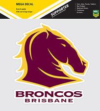 NRL Brisbane Broncos iTag Mega Decal Sticker