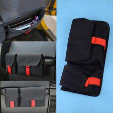 Black Co-Pilot Storage Organizer Bag Fit For Jeep Wrangler TJ JK JL 1997-2020