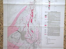 New listing Usgs Banded Iron Formation in the Tobacco Root Mountains, Montana 1981 with Map