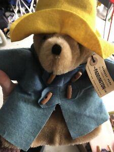 Vintage Paddington Bear Hand Puppet 1975 Rare Eden Toys HTF