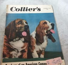 Oct 1949 Hound Dogs   Collier's Magazines Vintage Ads