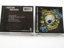 Lynch Mob Unplugged Live from Sugar Hill Studios Cd 2013 George Oni Logan Dokken