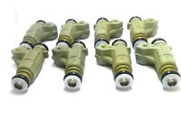 Set of 8 Bosch 0280155744 Injector 98-00 Mercedes CLK430 4.3L V8 A1130780049