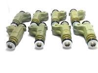 Set of 8 Bosch 0280155744 Injector 98-00 Mercedes CLK430 4.3L V8 A1130780049