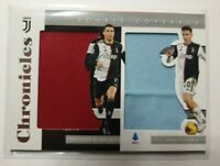 2020 Panini Chronicles Soccer Cristiano Ronaldo & Paulo Dybala Double Patch