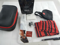 2018 American Airlines International First Class Amenity Bag Kit Cole Haan Red