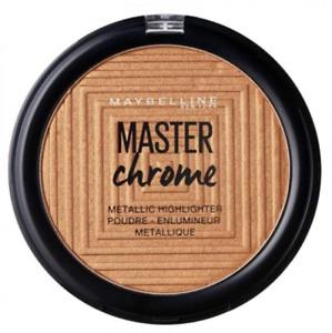MAYBELLINE MASTER CHROME METALLIC HIGHLIGHTER POWDER 150 MOLTEN BRONZE NEW