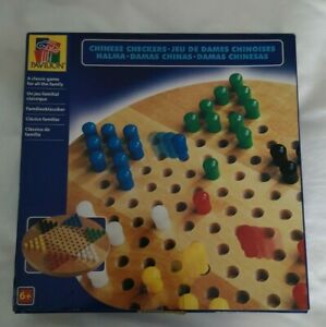 Pavilion Chinese Checkers Hexagon Checkers Puzzle Game Family Game - 1998